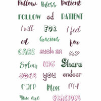 LDRS Creative - Cling Mounted Rubber Stamps -Follow the Blessed