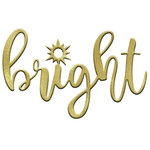 LDRS Creative - Christmas - Designer Dies - Bright Word
