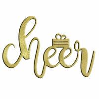 LDRS Creative - Christmas - Designer Dies - Cheer Word