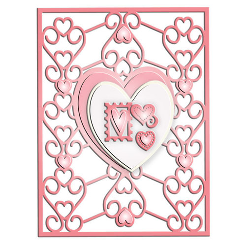 LDRS Creative - Designer Dies and Clear Acrylic Stamps - Lovelette