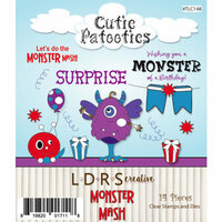 LDRS Creative - Designer Dies and Clear Acrylic Stamps - Monster Mash