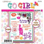 LDRS Creative - Designer Dies and Clear Acrylic Stamps - Girl Power I