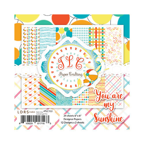 LDRS Creative - 6 x 6 Paper Pack - You Are My Sunshine