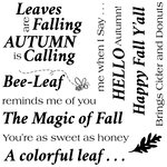 LDRS Creative - Clear Acrylic Stamps - Magic of Fall