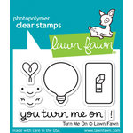 Lawn Fawn - Clear Acrylic Stamps - Turn Me On