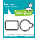 Lawn Fawn - Lawn Cuts - Dies - Turn Me On