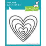 Lawn Fawn Heart Stackables Lawn Cuts Dies