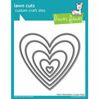 Lawn Fawn - Lawn Cuts - Dies - Heart Stackables