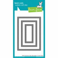 Lawn Fawn - Lawn Cuts - Dies - Small Stitched 4 Bar Rectangles