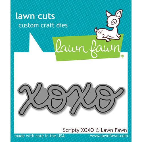 Lawn Fawn - Lawn Cuts - Dies - Scripty XOXO