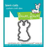 Lawn Fawn - Lawn Cuts - Dies - Believe in Yourself