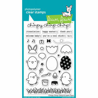 Lawn Fawn - Clear Photopolymer Stamps - Chirpy Chirp Chirp