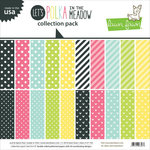 Lawn Fawn - Let's Polka in the Meadow Collection - 12 x 12 Collection Pack