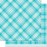 Lawn Fawn - Perfectly Plaid Collection - 12 x 12 Double Sided Paper - Daniella
