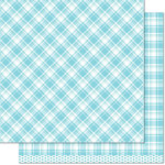 Lawn Fawn - Perfectly Plaid Collection - 12 x 12 Double Sided Paper - Nancy