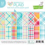 Lawn Fawn - Perfectly Plaid Collection - 6 x 6 Petite Paper Pack