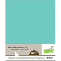 Lawn Fawn - 8.5 x 11 Cardstock - Mermaid - 10 Pack