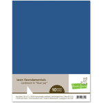 Lawn Fawn - 8.5 x 11 Cardstock - Blue Jay - 10 Pack
