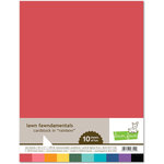 Lawn Fawn - 8.5 x 11 Cardstock - Rainbow - 10 Pack