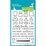 Lawn Fawn - Clear Acrylic Stamps - Little Bundle