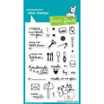 Lawn Fawn - Clear Acrylic Stamps - Just for You