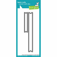Lawn Fawn - Lawn Cuts - Dies - Extra Sentiment Banners