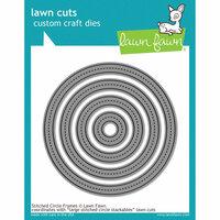 Lawn Fawn - Lawn Cuts - Dies - Stitched Circle Frames
