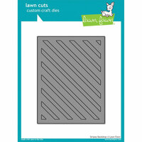 Lawn Fawn - Lawn Cuts - Dies - Stripey Backdrop