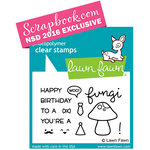 Lawn Fawn - Clear Acrylic Stamps - You're a Fungi