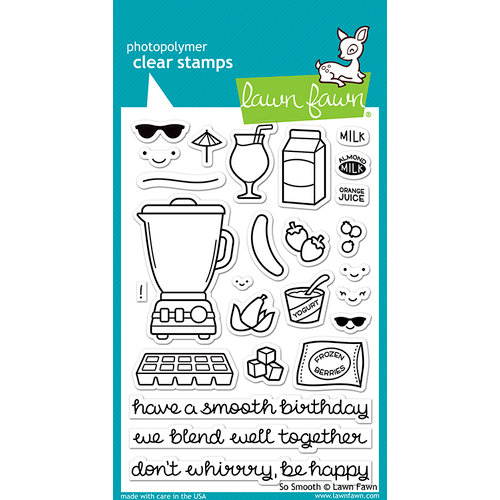 Lawn Fawn - Clear Photopolymer Stamps - So Smooth