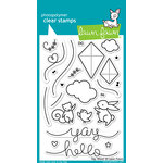 Lawn Fawn - Clear Acrylic Stamps - Yay, Kites