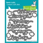 Lawn Fawn - Lawn Cuts - Dies - Big Scripty Words