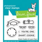 Lawn Fawn - Clear Acrylic Stamps - Smart Cookie