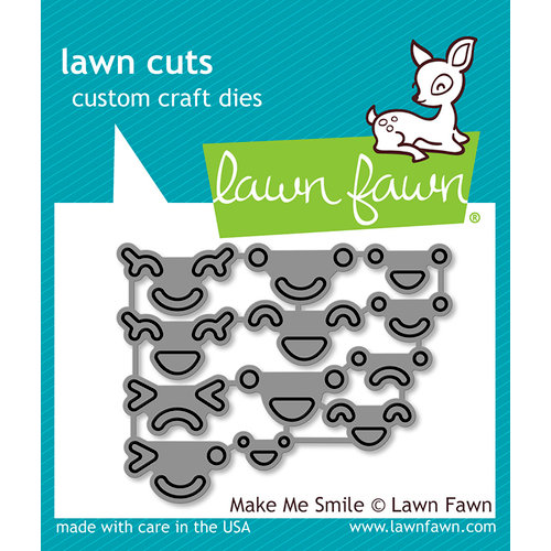 Lawn Fawn - Lawn Cuts - Dies - Make Me Smile