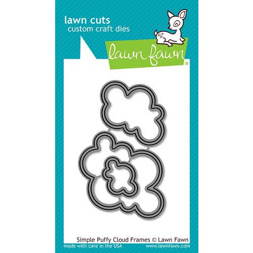 Lawn Fawn - Lawn Cuts - Dies - Simple Puffy Cloud Frames