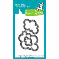 Lawn Fawn - Lawn Cuts - Dies - Simple Puffy Cloud Frames