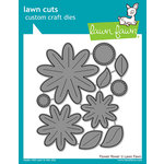 Lawn Fawn - Lawn Cuts - Dies - Flower Power