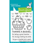 Lawn Fawn - Clear Acrylic Stamps - Thanks a Bushel