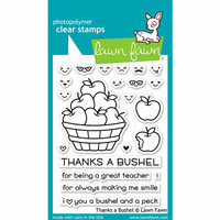 Lawn Fawn - Clear Photopolymer Stamps - Thanks a Bushel