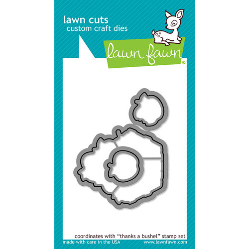 Lawn Fawn - Lawn Cuts - Dies - Thanks a Bushel