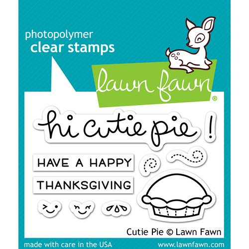 Lawn Fawn - Clear Photopolymer Stamps - Cutie Pie