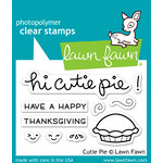 Lawn Fawn - Clear Acrylic Stamps - Cutie Pie