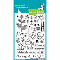 Lawn Fawn - Clear Photopolymer Stamps - Cheery Christmas