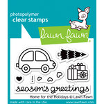 Lawn Fawn - Christmas - Clear Acrylic Stamps - Home for the Holidays