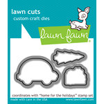 Lawn Fawn - Christmas - Lawn Cuts - Dies - Home for the Holidays