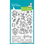 Lawn Fawn - Clear Acrylic Stamps - Frosty Fairy Friends