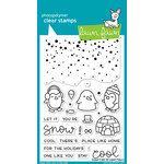 Lawn Fawn - Clear Acrylic Stamps - Snow Cool
