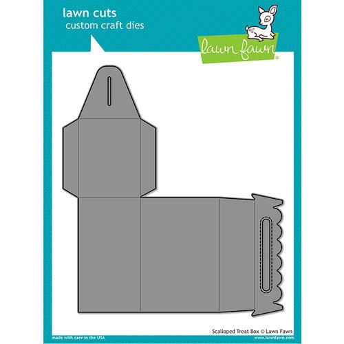 Lawn Fawn - Scalloped Treat Box