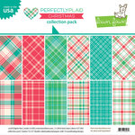 Lawn Fawn - Perfectly Plaid Collection - Christmas - 12 x 12 Collection Pack