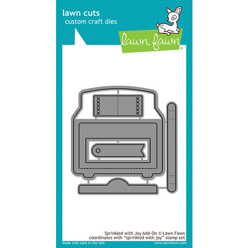 Lawn Fawn - Lawn Cuts - Dies - Sprinkled With Joy Add On